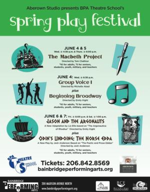 BPA Theatre School to Host Spring Play Festival, 6/4-7