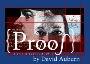 Sierra Stages Presents David Auburn's PROOF, 5/1-18