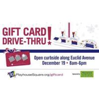 PlayhouseSquare Announces Gift Card Drive-Thru, 12/19