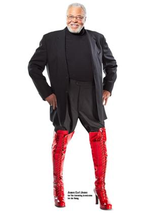 James Earl Jones Stands Up for Kids Who Stutter; Supports SAY and KINKY BOOTS' 'Just Be' Campaign