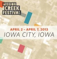 Mission Creek Festival Announces 2013 Dates