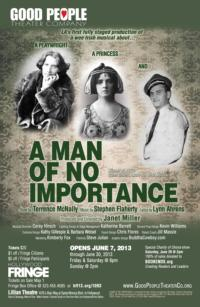 Janet Miller Launches Good People Theater; Announces 1st Show A MAN OF NO IMPORTANCE, 6/7-30