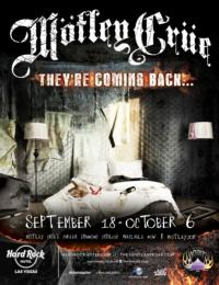Motley Crue to Return to Las Vegas for 2nd Residency at The Joint at Hard Rock, 9/18-10/6