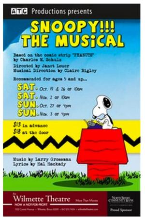Actors Training Center Presents SNOOPY!!! The Musical at the Wilmette Theatre