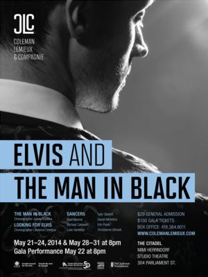 Coleman Lemieux & Compagnie Presents ELVIS AND THE MAN IN BLACK, Now thru 5/31