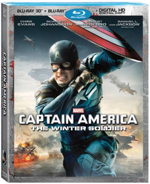 CAPTAIN AMERICA: THE WINTER SOLDIER Heading to Blu-ray/DVD 9/9