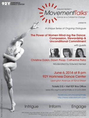 BWW Previews: MOVEMENT TALKS at 92nd Street Y in NYC, 6/6