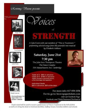 Voices of Strength Raises Money for THIS IS TREATMENT Today