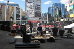 LUNCHTIME LIVE! Returns to Yonge-Dundas Square, 5/26-6/16 and 7/8-7/29