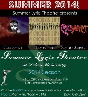 Summer Stages: BWW's Top Theatre Picks - New Orleans!