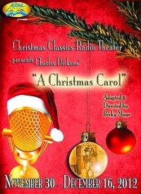 Christmas Classics Radio Theater Presents CHARLES DICKENS' 'A CHRISTMAS CAROL' at the Adobe Theater, Now thru 12/16