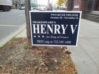Two River Theater Campaigns for HENRY V as King of France; Production Opens 10/26