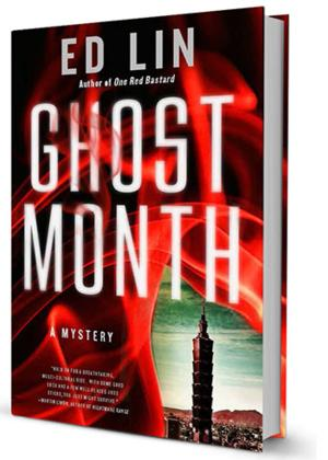 Soho Crime Releases GHOST MONTH by Ed Lin Today