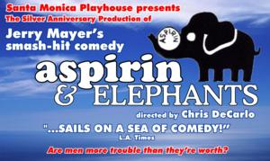 Santa Monica Playhouse Stages ASPIRIN & ELEPHANTS, Now thru 1/26