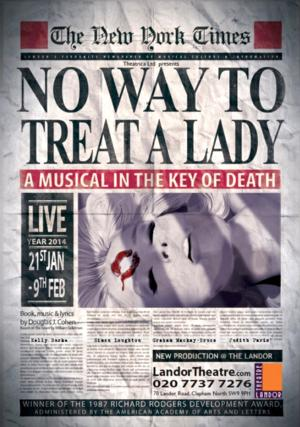 Graham Mackay-Bruce, Simon Loughton and More Set for Landor Theatre's NO WAY TO TREAT A LADY Tonight