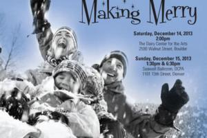 Stories on Stage's MAKING MERRY Runs this Weekend