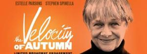 Estelle Parsons & Stephen Spinella-Led THE VELOCITY OF AUTUMN to Open at Booth Theatre on 4/21