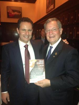 John Tsunis Joins Brian Kilmeade for GEORGE WASHINGTON'S SECRET SIX Book Launch