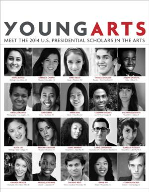 YoungArts Winners from 12 States Named 2014 US Presidential Scholars in the Arts