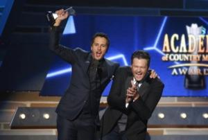 Blake Shelton, Luke Bryan to Return to Co-Host ACADEMY OF COUNTRY MUSIC AWARDS