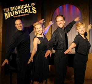 BWW Reviews: THE MUSICAL OF MUSICALS:  THE MUSICAL Brings Roars of Laughter to Quality Hill Playhouse