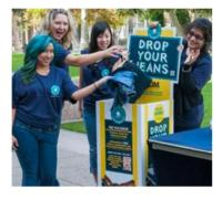 FIDM Students Donate Over 3,700 Pairs of Jeans