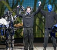 Photo Flash: Blue Man Group Hosts Boise State University and University of Washington's Football Teams at MAACO Bowl Las Vegas' Official Show Night