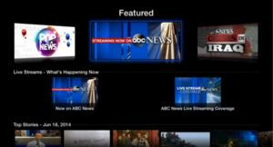 ABC News to Launch New Apple TV Channel Today