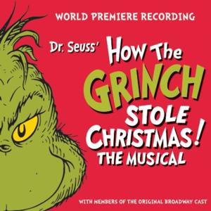 HOW THE GRINCH STOLE CHRISTMAS! Album Track List Revealed; Out 10/29!