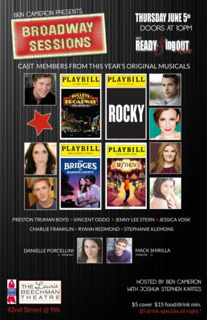 Broadway Sessions to Welcome Cast Members from IF/THEN, ROCKY & More Tomorrow