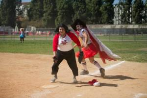 Alex Minsky Throws First Pitch at 3rd Annual DRAG QUEEN WORLD SERIES Today
