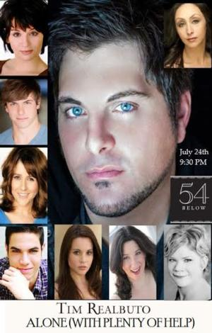 Tim Realbuto's Show at 54 Below to Feature Leavel, Klena, and More Broadway Vets, 7/24