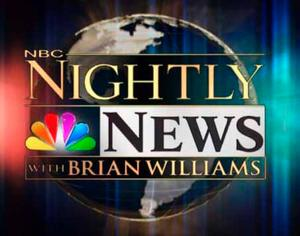 NBC NIGHTLY NEWS is Most-Watched Newscast of the Week