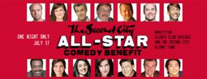 The Second City Adds New Names To All-Star Comedy Benefit, 7/17