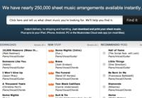 Musicnotes.com Sells 15 Millionth Sheet Music Download; Registers 20% Sales Growth in 2012