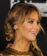 Jennifer Lawrence Wears Jacob & Co. to 'The Hunger Games' Premiere