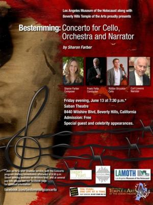 Curt Lowens to Narrate Sharon Farber's BESTEMMING: CONCERTO FOR CELLO, ORCHESTRA AND NARRATION, 6/13