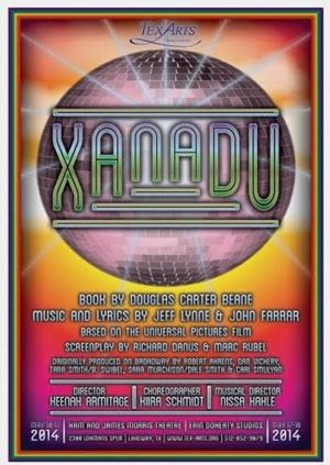 TexARTS to Stage XANADU, 5/10-18