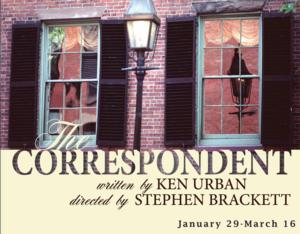 THE CORRESPONDENT with Thomas Jay Ryan to Begin Performances 1/29 at Rattlestick
