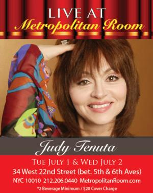 Judy Tenuta Coming to the Metropolitan Room, 7/1-2