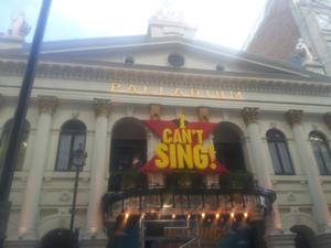 Photo Coverage: I CAN'T SING!: THE X FACTOR MUSICAL Marquee!