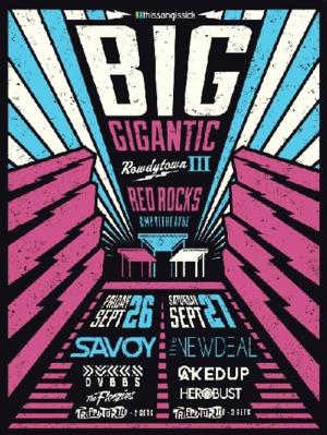 Big Gigantic Sets Supporting Acts For 'Rowdytown III'