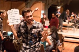 BWW Reviews: Portland Playhouse Tries to Figure Out HOW TO END POVERTY IN 90 MINUTES (WITH 99 PEOPLE YOU MAY OR MAY NOT KNOW)