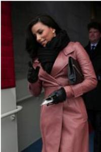 Eva Longoria Wears Jill Milan to Presidential Inauguration