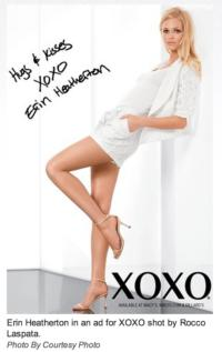 Victoria's Secret Angel Erin Heatherton is the New Face of XOXO