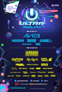 Armada Music Presents Own Stage at Ultra Music Festival Argentina & Chile Today