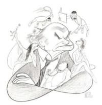 Swann Galleries Auction Features Al Hirschfeld Drawings Today