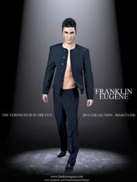 Designer Franklin Eugene Captures the Essence of Masculinity in 2013 Collection