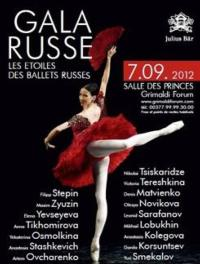Ballets Russes Gala Set for Monaco's Grimaldi Forum, Sept 7