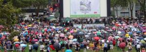 BROADWAY IN BRYANT PARK 2014 Kicks Off Tomorrow with Andy Karl, Justin Guarini, LaChanze & More!